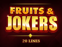 Fruit and Jokers: 20 Lines
