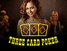 Live Three Card Poker