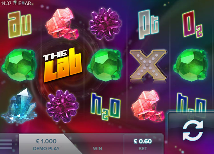 The Lab | bCasino Uk | Deposit £50 play with £100